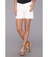 DL1961 - Karlie Roll-Up Short in Dark White