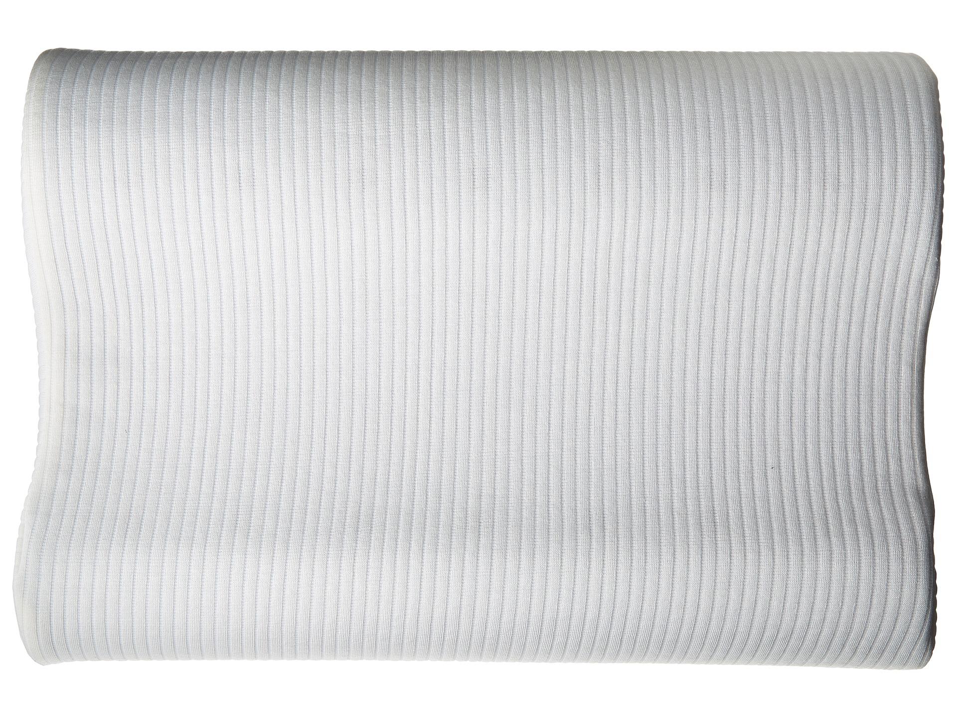 soft tex classic contour memory foam bed pillow standard