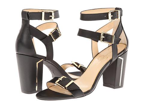 Jessica Simpson - Julinda (Black Veg Vachetta) - Footwear