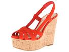 Jessica Simpson - Westt (Salsa Red Elko Nubuck) - Footwear