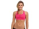 Nike Pro Victory Compression Sports Bra (Vivid Pink/Black) Women's Bra