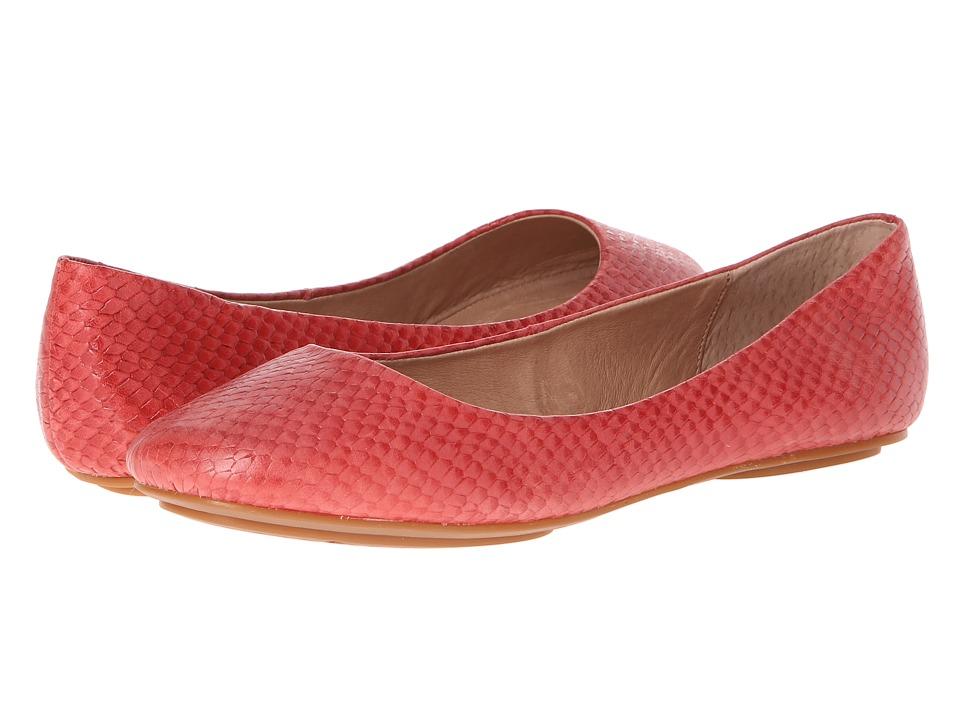 Miz Mooz Phaedra Red Womens Flat Shoes