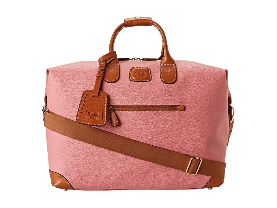 Brics Milano Firenze 18 Cargo Duffle Pink Duffel Bags