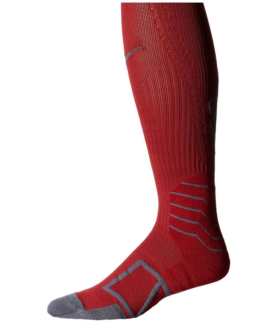 Nike - Elite Baseball Sock OTC (Team Crimoson/Flint Grey) Knee High Socks Shoes