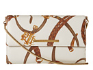 LAUREN Ralph Lauren - Caldwell Belting Mini Chain Crossbody (Cream Belting/Lauren Tan)