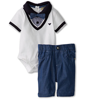 Armani Junior - 3 Piece Gift Set with Bow Tie and Pants (Infant)