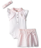 Armani Junior - Eyelet 3 Piece Gift Set with Headband and Skirt (Infant)