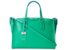 LAUREN Ralph Lauren - Tate Convertible Satchel (Peppermint/French Blue)