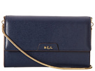 LAUREN Ralph Lauren - Tate Mini Chain Crossbody (Navy/Cocoa)