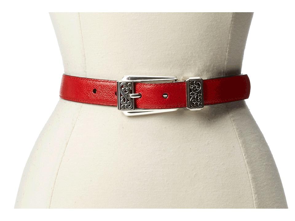 Brighton - Bolero 1 Reversible Belt (Candy Apple/Black) Womens Belts