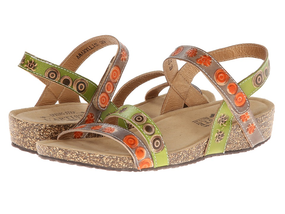 Spring Step Amaryllis (Gray Multi) Women