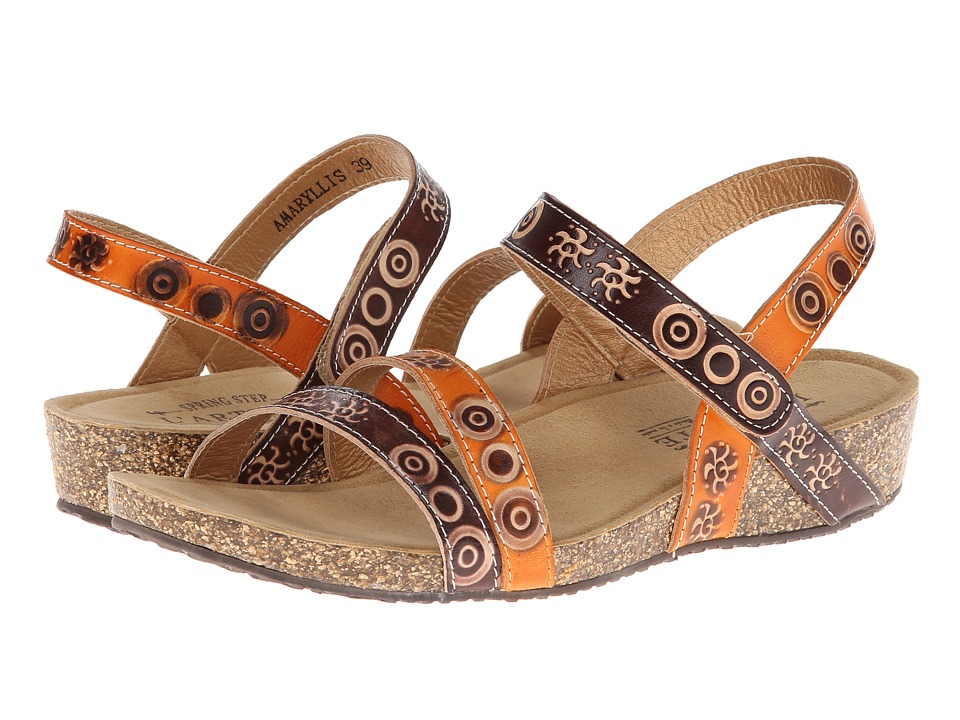Spring Step Amaryllis (Brown Multi) Women