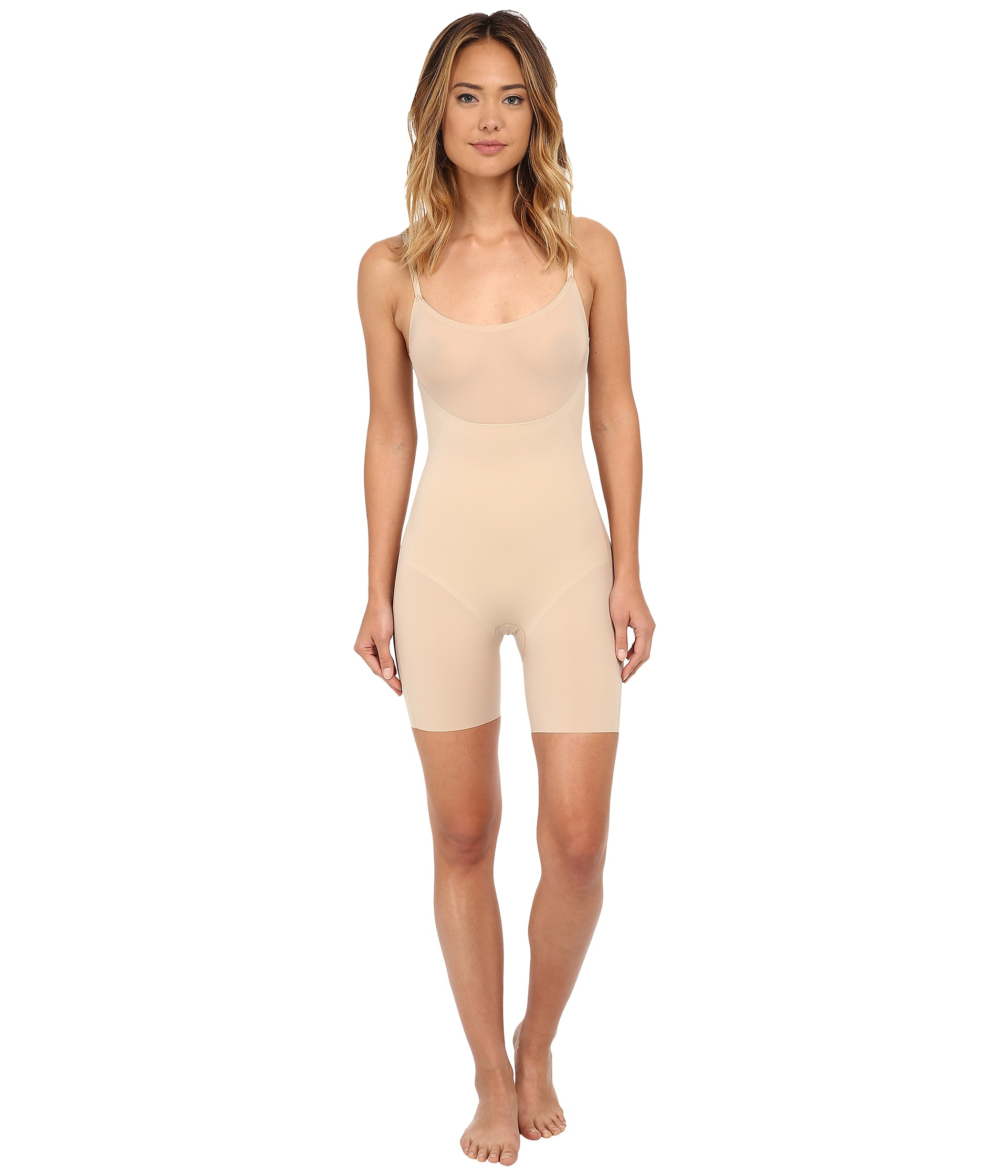 Spanx Trust Your Thinstincts Adjustable Strap Mid Thigh Body