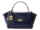 LAUREN Ralph Lauren - Lanesborough Convertible Satchel (Bright Navy)