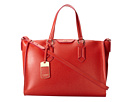 LAUREN Ralph Lauren - Tate Convertible Satchel (Punch/Raspberry)