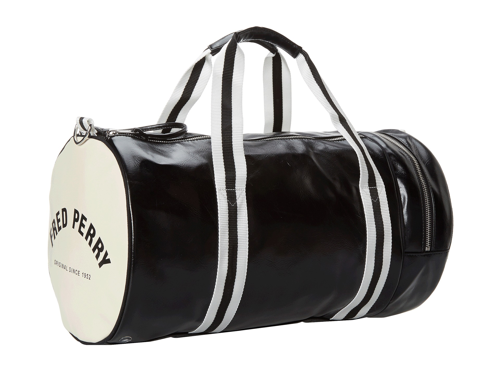 fred perry classic barrel bag at. Black Bedroom Furniture Sets. Home Design Ideas