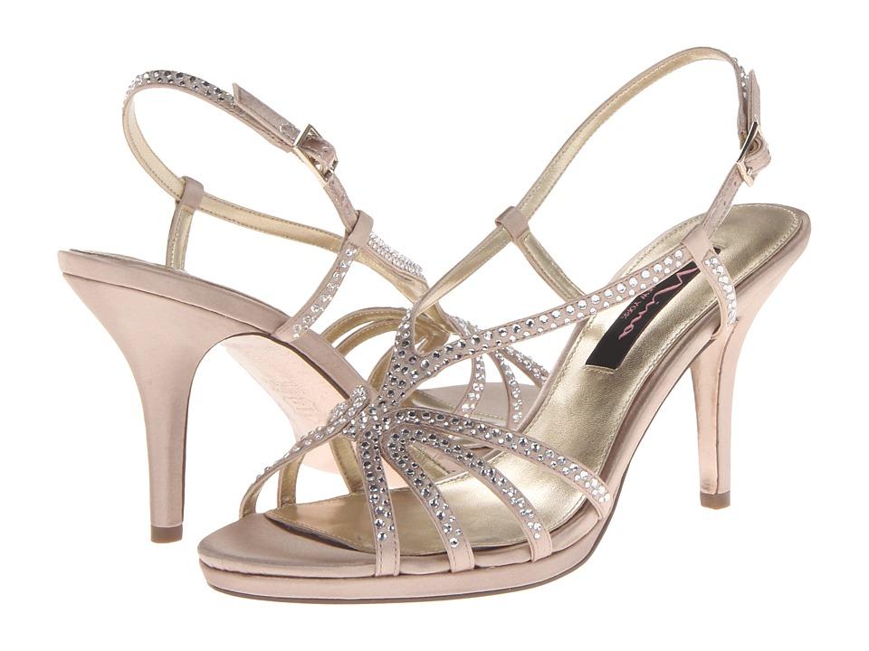 Nina Bobbie (Champagne) Women's Dress Sandals