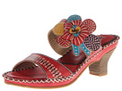 Spring Step - Oceanside (Red Leather) - Footwear