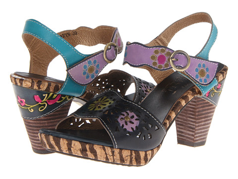 Spring Step Shoes - Juniper Mary Janes (Blue) KIA1455 - $63.20