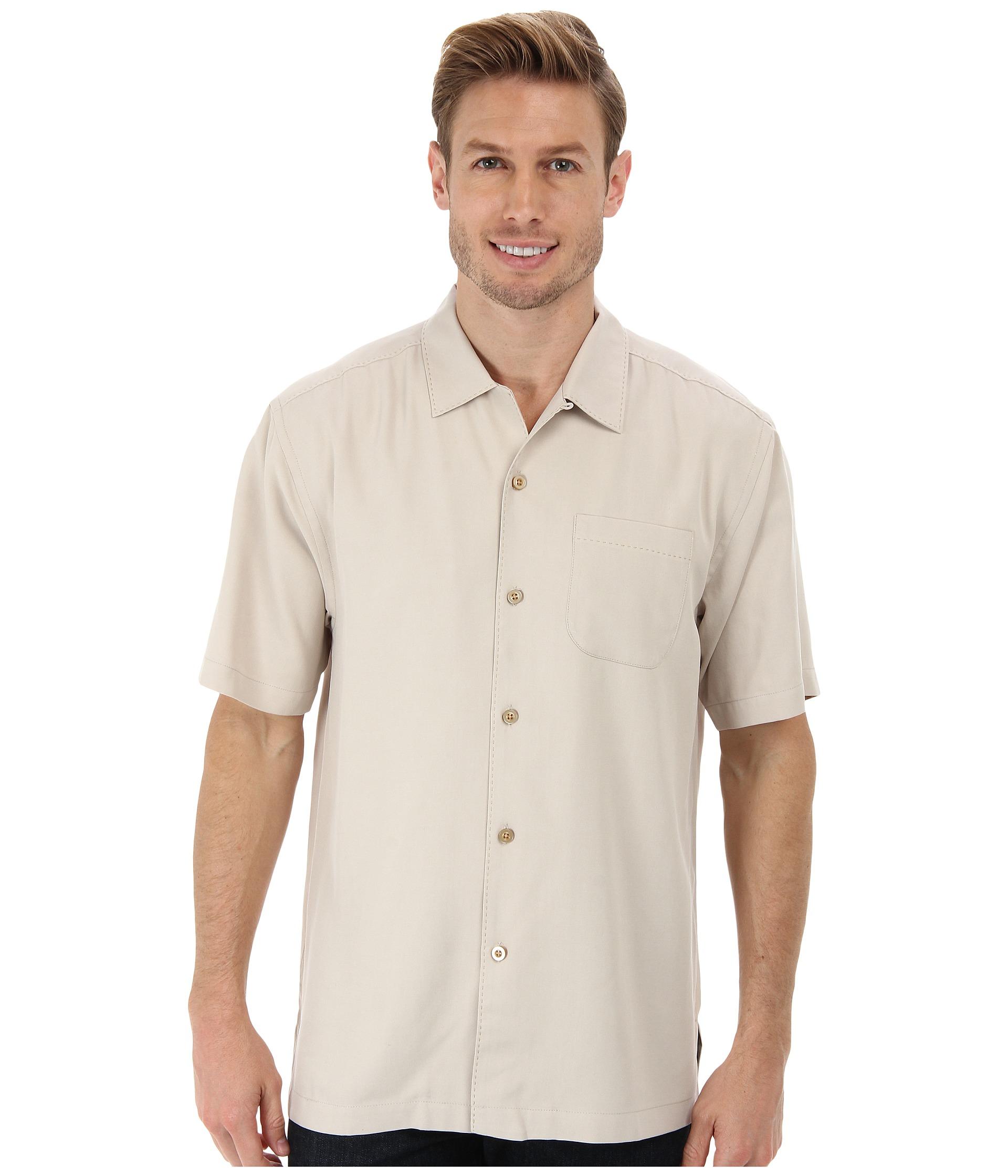 Tommy bahama catalina twill camp shirt free for Where to buy tommy bahama shirts