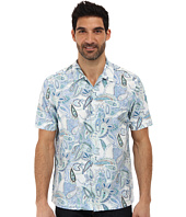 Tommy Bahama - Island Modern Fit Paisley Beach S/S Camp Shirt