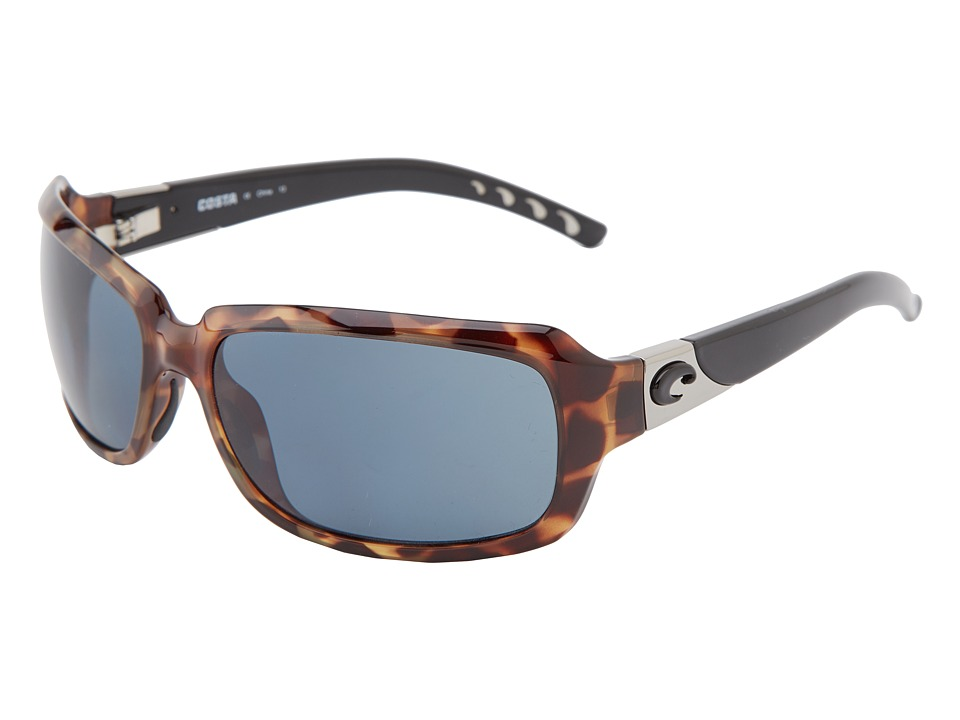 Costa - Isabella 580 Plastic (Retro Tortoise/Gray 580 Plastic Lens) Sport Sunglasses
