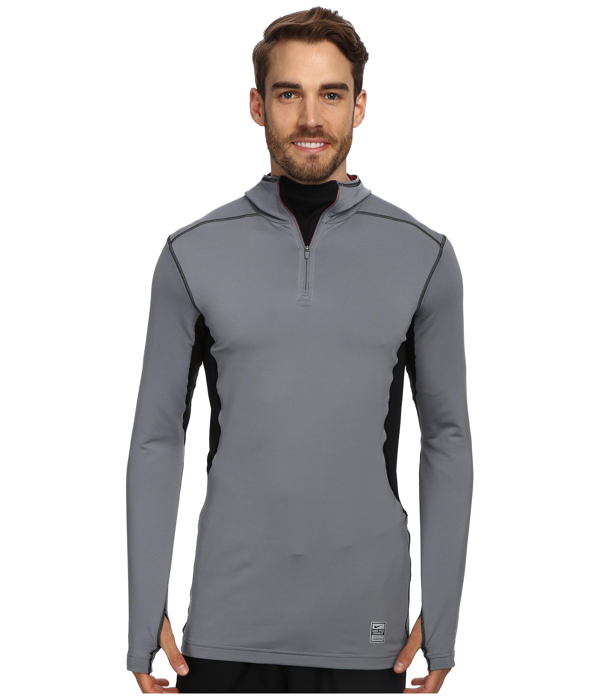 Nike Hyperwarm Dri-Fit  Max Quarter-Zip Hoodie $44.99 (50% off MSRP $90.00