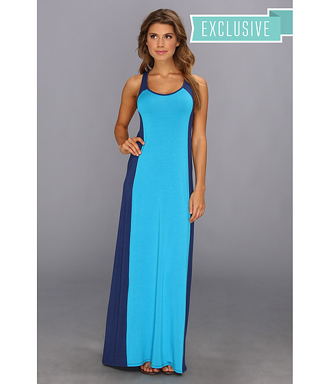 Michael Stars Colorblock Maxi Dress - 6pm.com