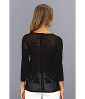 Autumn Cashmere - Mesh Skeleton Back Top