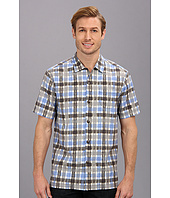 Tommy Bahama - Island Modern Fit Plaid Impressions S/S Camp Shirt