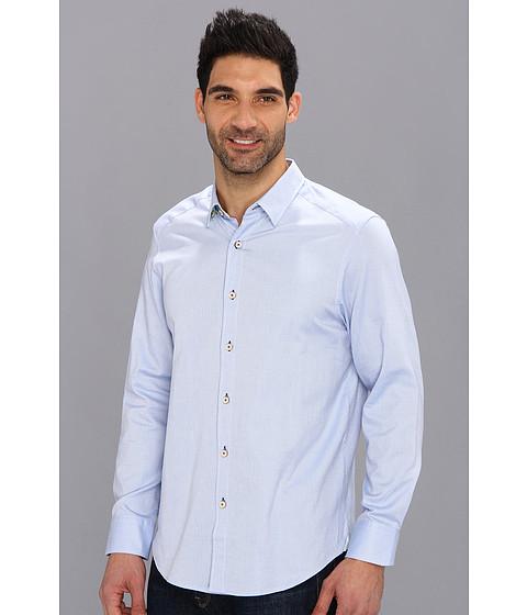 Tommy Bahama - Island Modern Fit Isle Of Oxford L/S Shirt (Light Sky) - Apparel