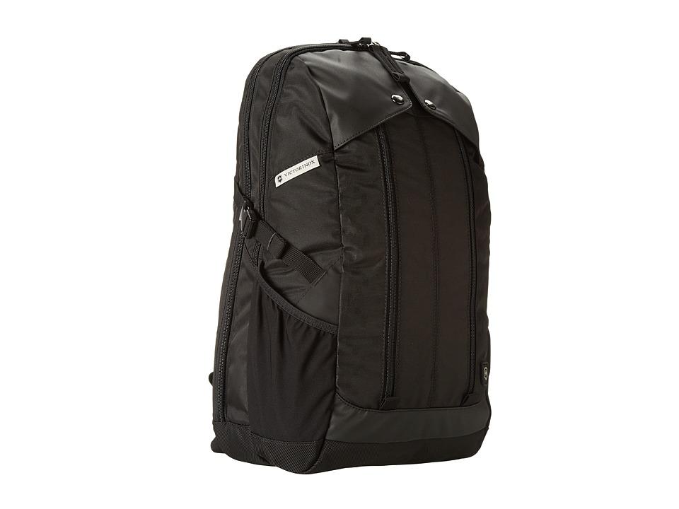 Victorinox Altmonttm 3.0 Slimline Laptop Backpack (Black/Black) Backpack Bags