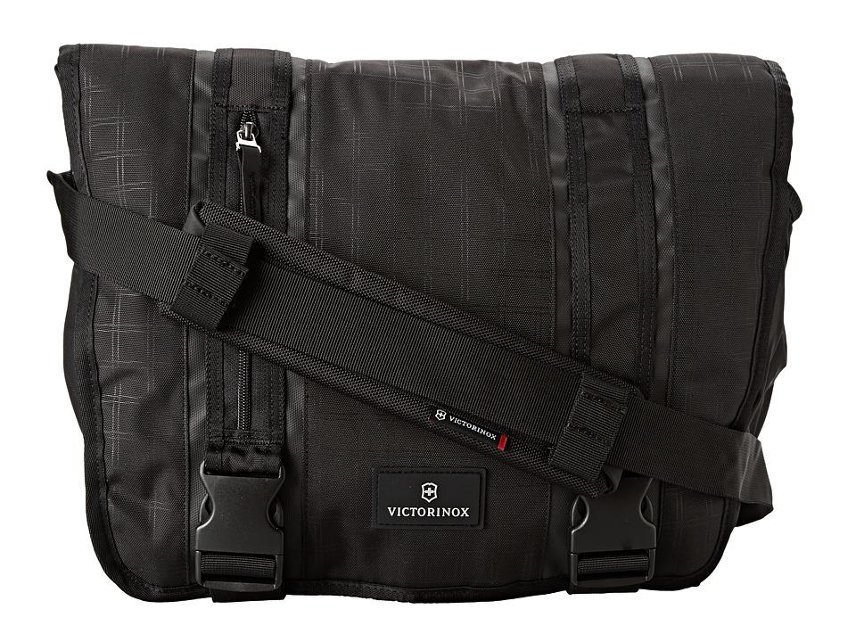 Victorinox - Altmont 3.0 - Laptop Messenger (Black/Black) Messenger Bags
