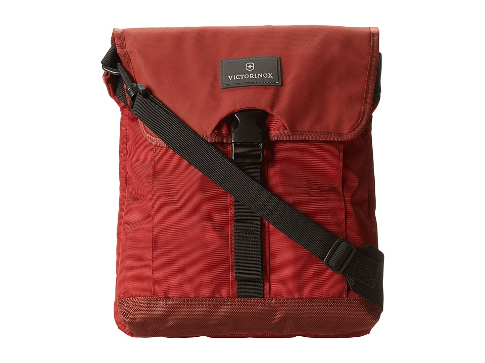 Victorinox Altmont 3.0 Flapover Digital Bag (Red/Black) Messenger Bags