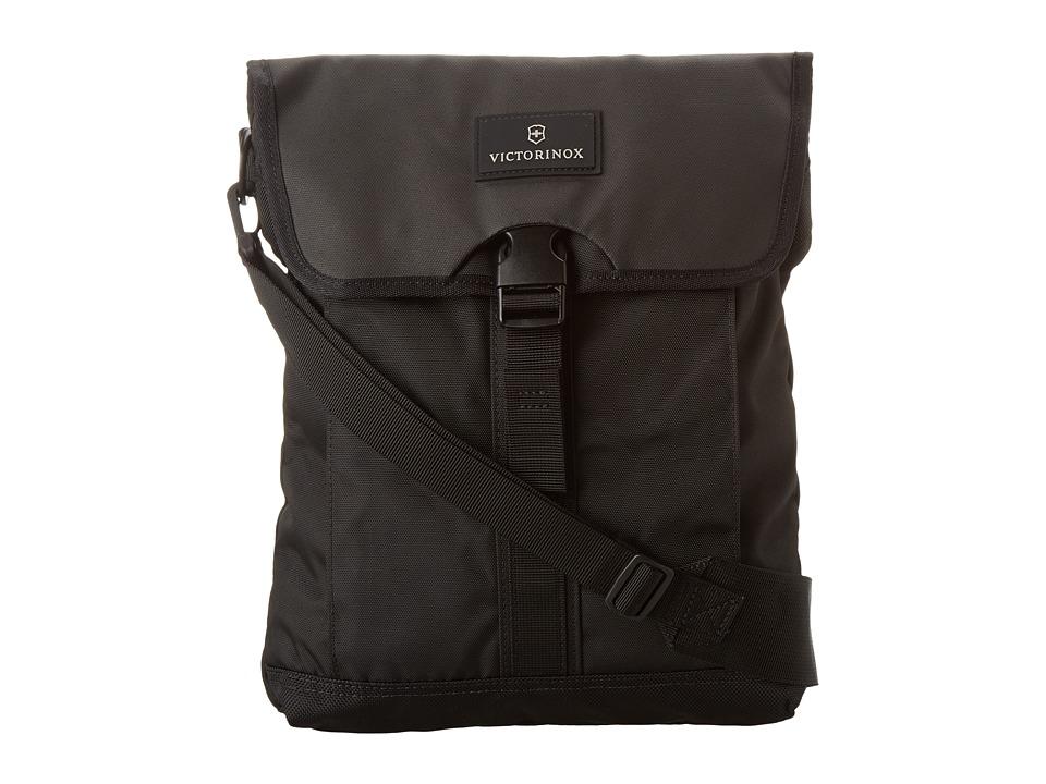 Victorinox - Altmont 3.0 - Flapover Digital Bag (Black) Messenger Bags