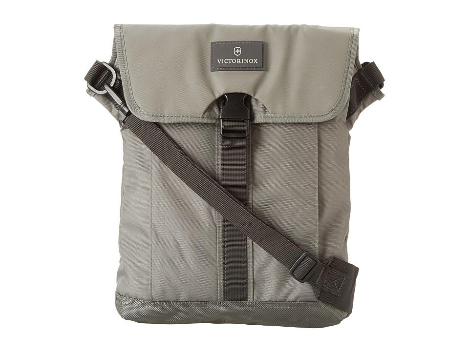 Victorinox - Altmont 3.0 - Flapover Digital Bag (Gray/Gray) Messenger Bags