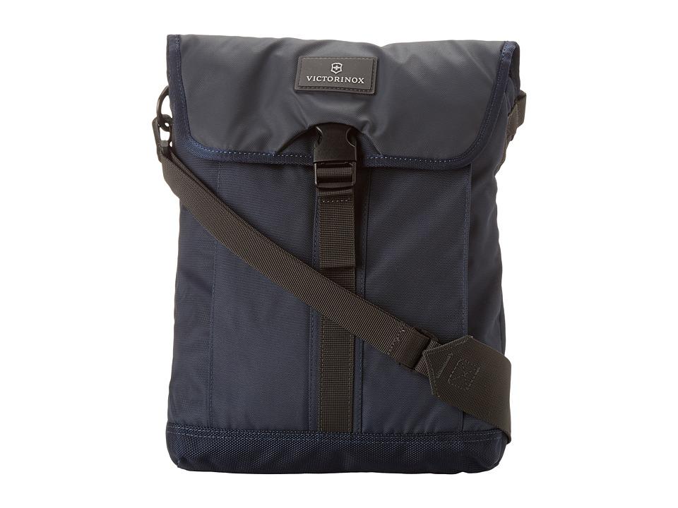 Victorinox - Altmont 3.0 - Flapover Digital Bag (Navy/Gray) Messenger Bags