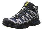 Salomon - X Ultra Mid GTX (Deep Blue/Aluminum/Gecko Green) -