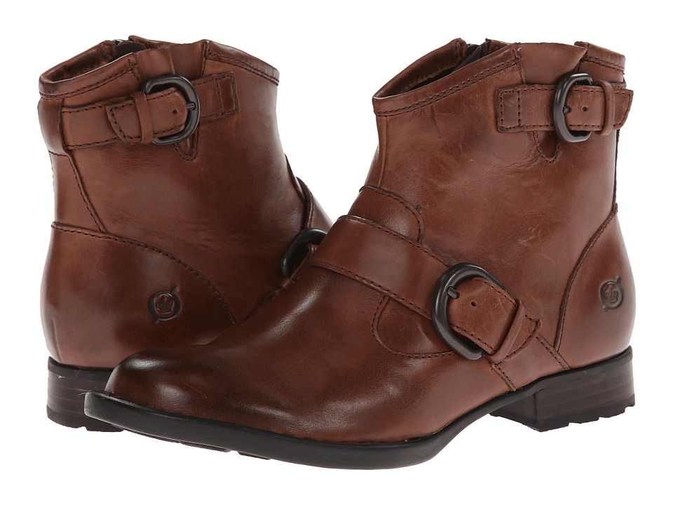 Born Raisa (Dark Tan) Women's Shoes