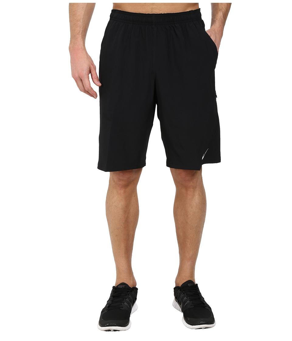 Nike N.E.T. 11 Woven Short (Black/White) Men's Shorts