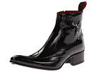 Jeffery-West - Crucifix Zip Boot (Black Patent) - Footwear