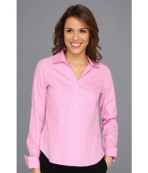Jones new york no iron easy care fitted shirt new pink for Jones new york no iron easy care boyfriend shirt