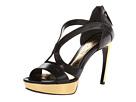 Alexander McQueen - Armadillo Sandal 105mm (Black) - Footwear