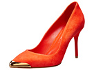 Alexander McQueen - Pointy Pump 85mm (Orange) - Footwear