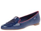Alexander McQueen - Skull Slipper (Blue/Red) - Footwear