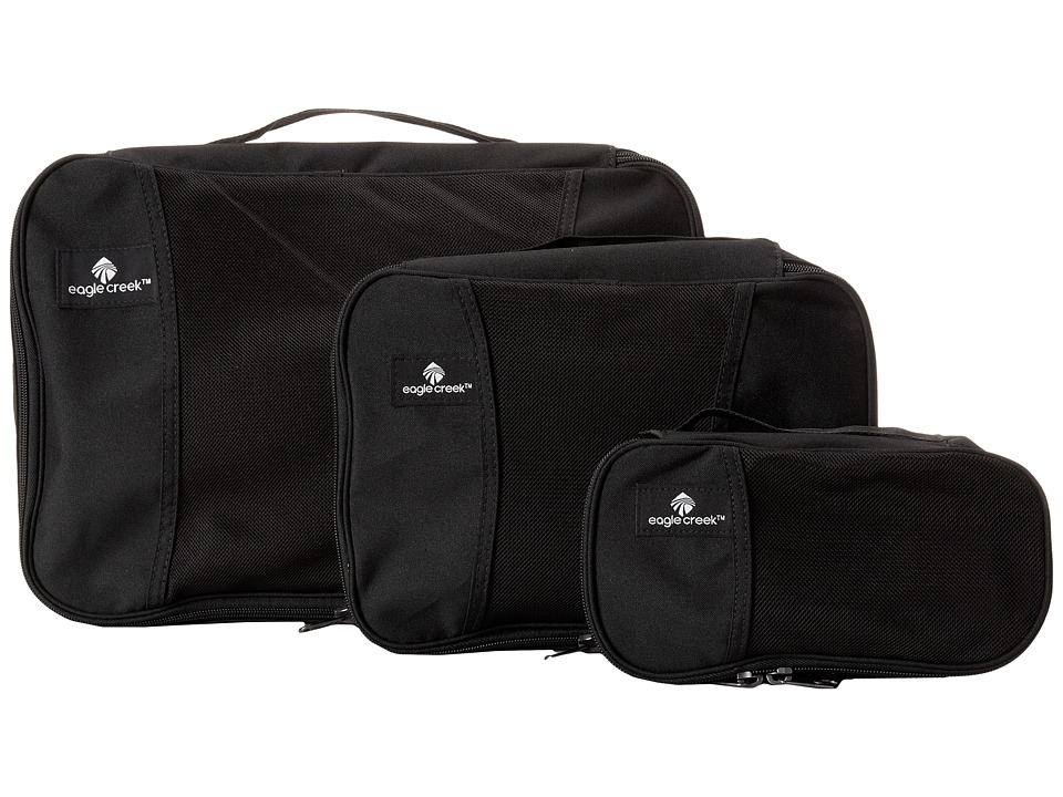 Eagle Creek - Pack-It!tm Cube Set (Black) Bags