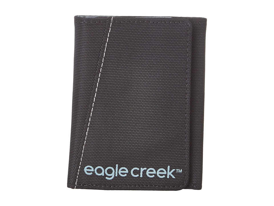 Eagle Creek - Tri-Fold Wallet (Black) Bags
