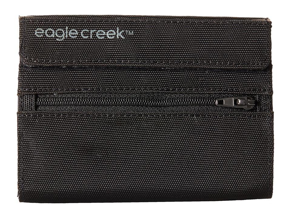 Eagle Creek RFID International Wallet (Black) Bags