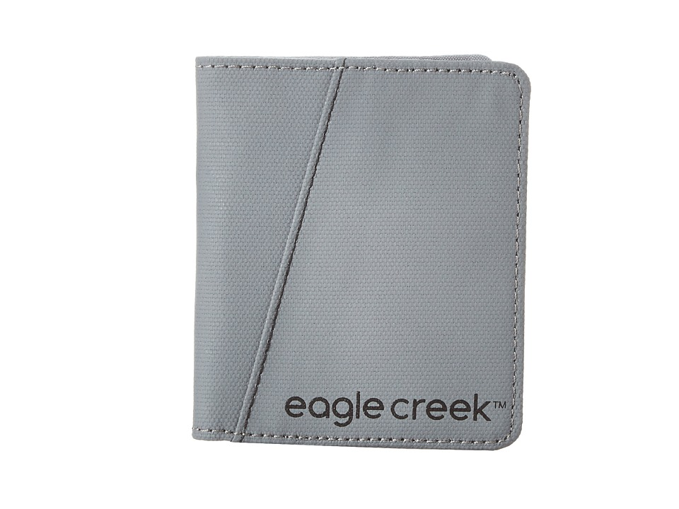 Eagle Creek - Bi-Fold Wallet Vertical (Stone Grey) Bags