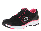 SKECHERS - Full Effect (Black/Hot Pink) - Footwear